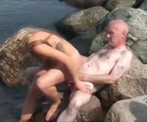 beachporn and make my squirt whiteh grandpa and two horny women.